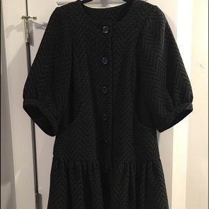 Women's Swing Wool Coat Tracy Reese Anthropologie